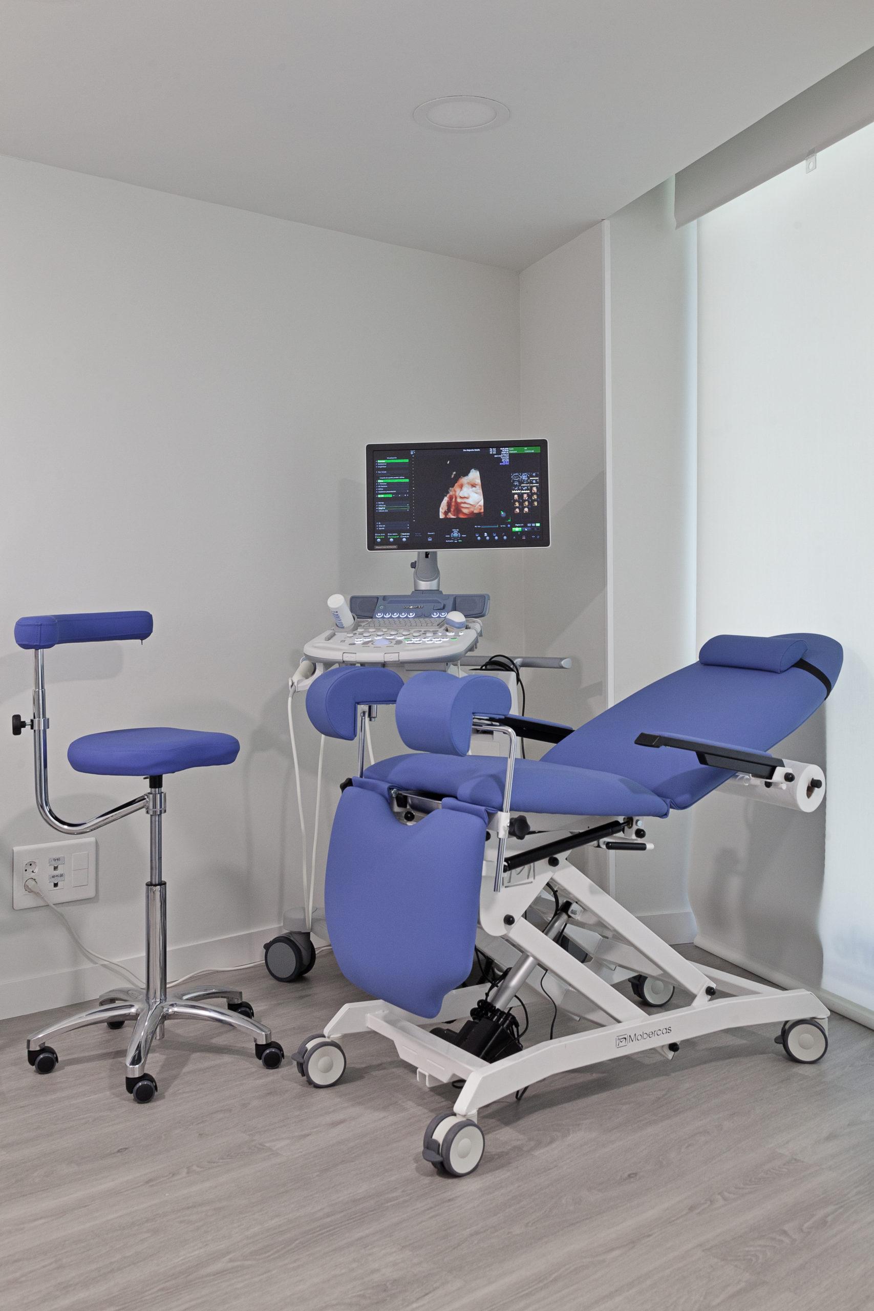 Ginecología - Dra. Alejandra Batalla. Despacho. Centro Sanitario Urdax.
