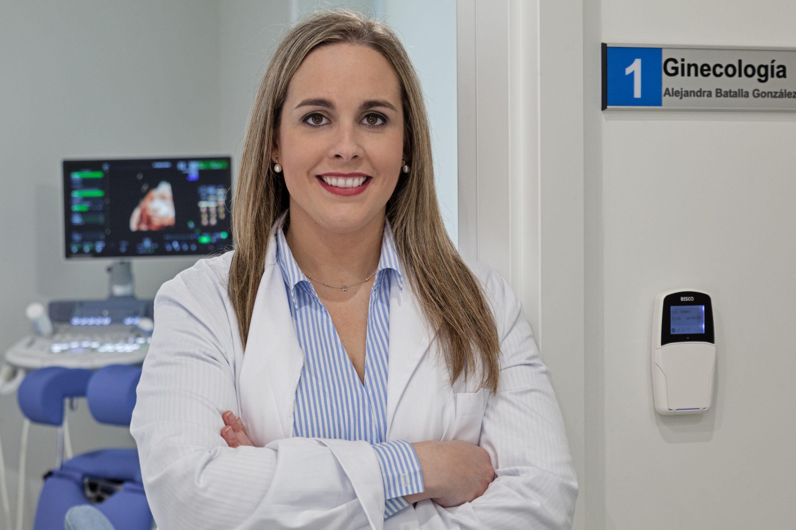 Dra. Alejandra Batalla González - Ginecología. Centro Sanitario Urdax.